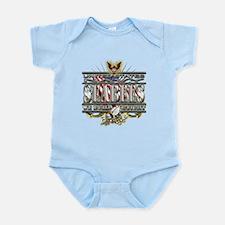 USN Navy Seabees Flag We Figh Infant Bodysuit