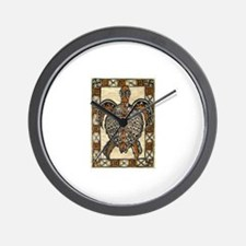 Tapa Turtle Wall Clock