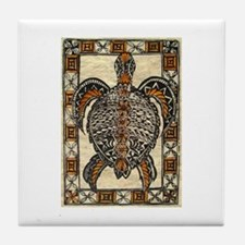 Tapa Turtle Tile Coaster
