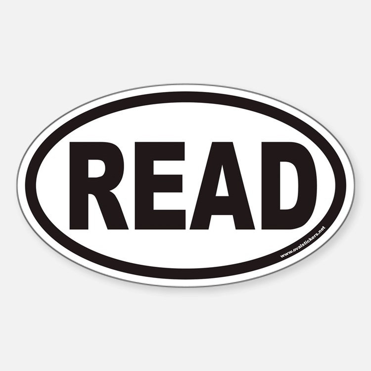 READ Euro Oval Decal