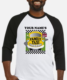 Personalized Family Taxi Baseball Jersey