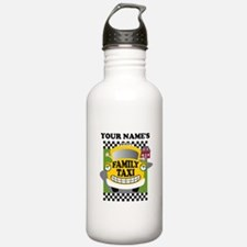 Personalized Family Taxi Water Bottle