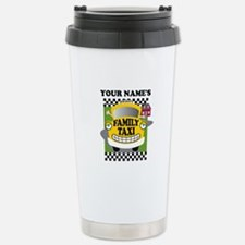 Personalized Family Taxi Thermos Mug