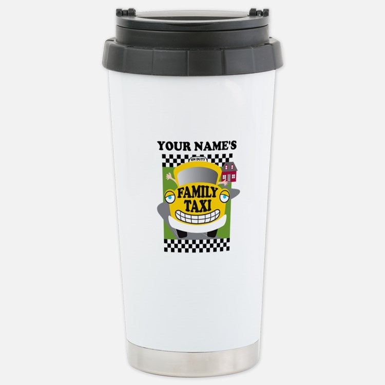 Personalized Family Taxi Travel Mug