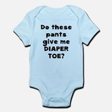 Diaper Toe Infant Bodysuit
