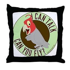 ICT,CYF Gang Gang Cockatoo Throw Pillow