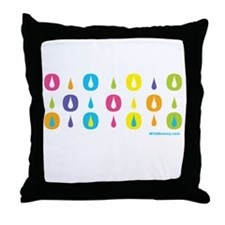 MM Drops of Love Throw Pillow