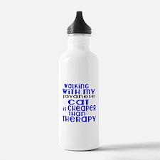Walking With My javane Sports Water Bottle