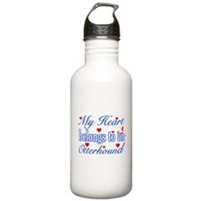 Otterhound Dog Designs Sports Water Bottle
