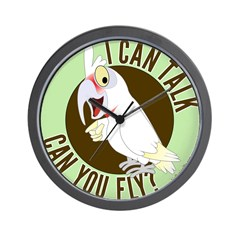 ICT,CYF Long Billed Corella Wall Clock