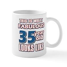 Cool 35 year old birthday designs Mug