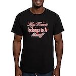 Mastiff Dog Designs Men's Fitted T-Shirt (dark)