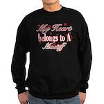 Mastiff Dog Designs Sweatshirt (dark)
