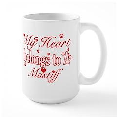 Mastiff Dog Designs Mug