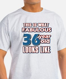 Cool 36 year old birthday designs T-Shirt