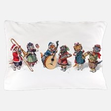 Jazz Cats In the Snow Pillow Case