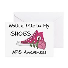 Walk a Mile in My Shoes Greeting Cards (Pk of 20)