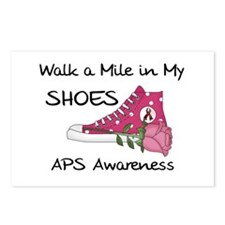 Walk a Mile in My Shoes Postcards (Package of 8)