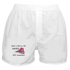 Walk a Mile in My Shoes Boxer Shorts
