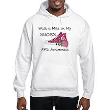 Walk a Mile in My Shoes Hoodie