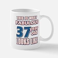Cool 37 year old birthday designs Mug