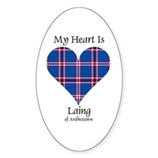 Heart - Laing of Archiestown Decal