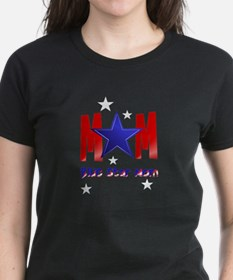 A Blue Star Mom-lettered Tee