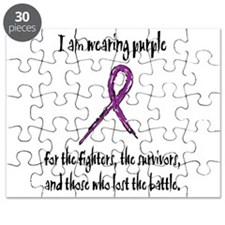 I Am Wearing Purple Puzzle