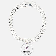 I Am Wearing Purple Bracelet