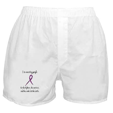 I Am Wearing Purple Boxer Shorts