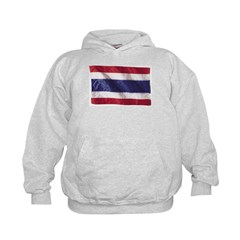 Wavy Thailand Flag Hoodie