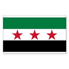 Free Syrian Republic Flag Decal