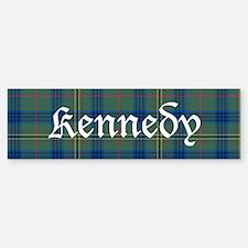 Tartan - Kennedy Bumper Bumper Sticker