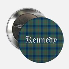 "Tartan - Kennedy 2.25"" Button"