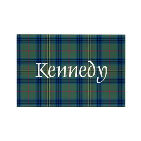 Tartan - Kennedy Rectangle Magnet