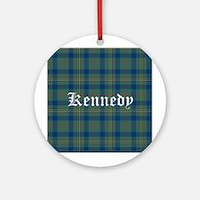 Tartan - Kennedy Ornament (Round)
