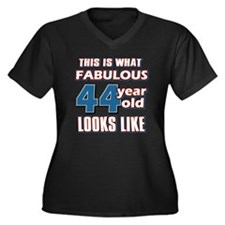 Cool 44 year old birthday designs Women's Plus Siz