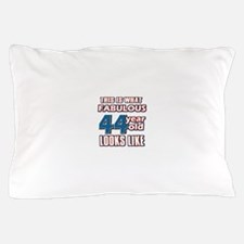 Cool 44 year old birthday designs Pillow Case