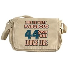 Cool 44 year old birthday designs Messenger Bag