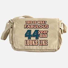 Cool 44 year old birthday designs Messenger Bag