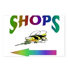 SHOPS Postcards (Package of 8)