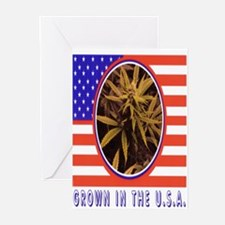 GROWN IN THE USA Greeting Cards (Pk of 20)