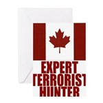 CANADA-EXPERT TERRORIST HUNTE Greeting Card