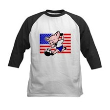 USA Soccer Pigs Tee