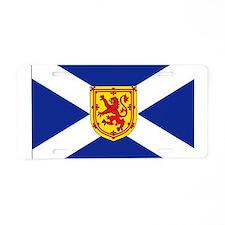 St. Andrews Cross Royal Aluminum License Plate