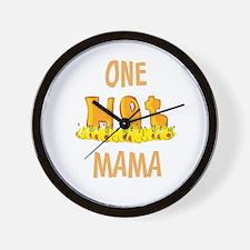 One Hot MAMA Wall Clock