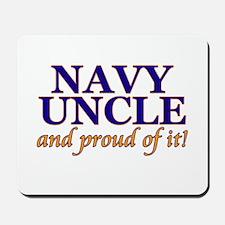 Navy Uncle & proud of it! Mousepad