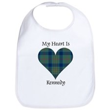 Heart - Kennedy Bib
