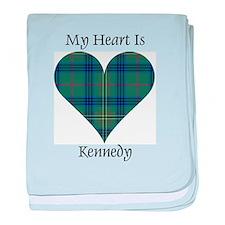 Heart - Kennedy baby blanket