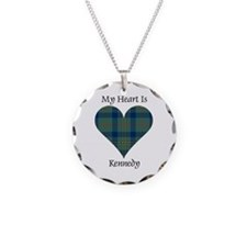 Heart - Kennedy Necklace Circle Charm